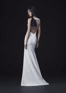 Свадебное платье от Веры Вонг 2016 с открытой спиной