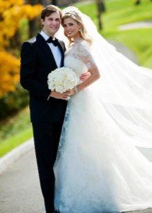 Свадебное платье Иванки Трамп от Веры Вонг