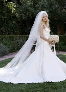 Свадебное платье Аврил Лавин от Веры Вонг