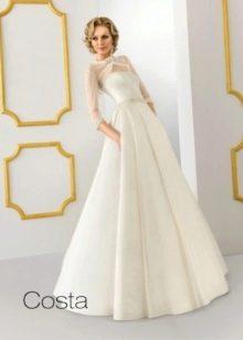 Свадебное платье от Ange Etoiles а-силуэта