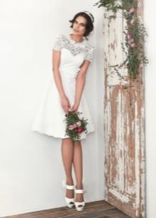 Свадебное платье от Ange Etoiles короткое