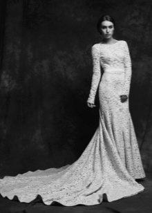 Свадебное платье от Anne-Mariee из коллекции 2015 со шлейфом