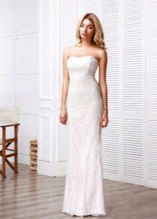 Свадебное платье от Anne-Mariee из коллекции 2016 прямое