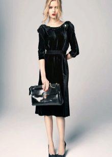 Платья из велюра для женщин