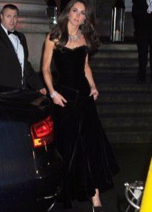 Бархатное платье Кейт Мидлтон
