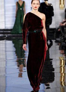 Бархатное платье от Ральфа Лорена