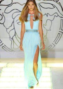Бирюзовый цвет платья оттенок Тиффани