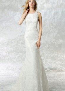 Свадебное платье от Raimon Bundo прямое