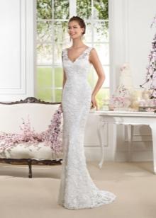 Свадебное платье от Fara Sposa прямое