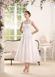 Свадебное платье от Fara Sposa миди