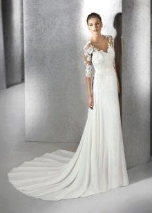 Свадебное платье от San Patrick простое