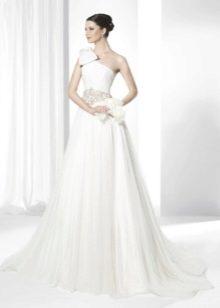 Свадебное платье от Franc Sarabia на одно плечо