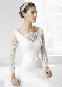 Свадебное платье от Franc Sarabia кружевное