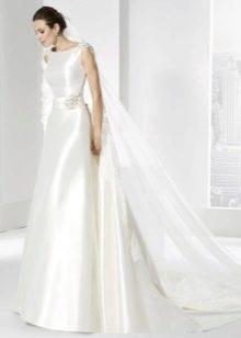 Свадебное платье от Franc Sarabia атласное