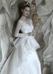 Свадебное платье от Atelier Aimee с баской