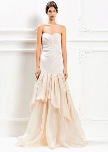 Свадебное платье от Max Mara с драпировкой