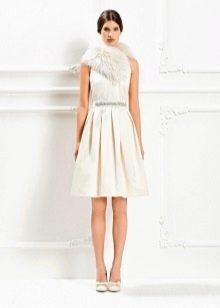 Свадебное платье от Max Mara бежевое