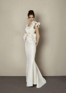 Свадебное платье от Антониа Рива прямое