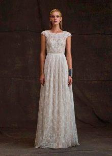Не пышное классическое свадебное платье