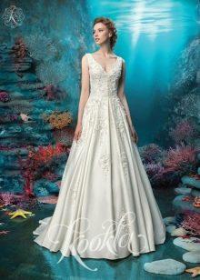 Свадебное платье а-силуэта от Kookla