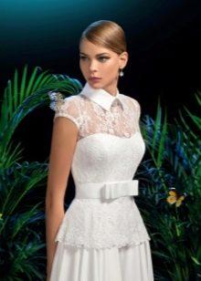 Свадебное платье из коллекции Moon Light от Kookla с баской