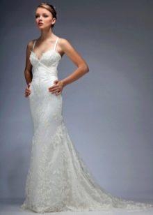 Свадебное платье из коллекции Мелодия любви от Lady White прямое