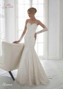 Свадебное платье из коллекции Universe от Lady White русалка