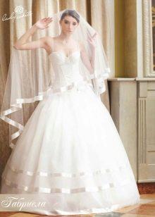 Свадебное платье из коллекции Мелодия любви от Lady White в стиле принцесса