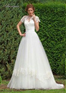 свадебное платье от Леди Вайт с кружевом