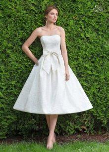 свадебное платье от Леди Вайт короткое