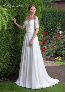 свадебное платье от Леди Вайт прямое