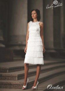 Свадебное платье из коллекции Enigma от Lady White короткое