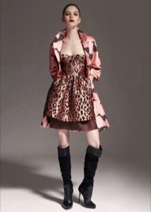 Тренчкот под леопардовое платье