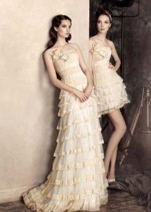 Свадебное платье-трансформер от Папилио