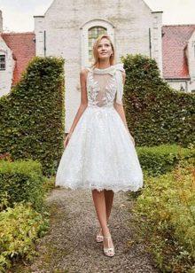 Свадебное платье в стиле нью лук