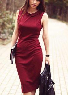 Оттенки цвета марсала в платьях