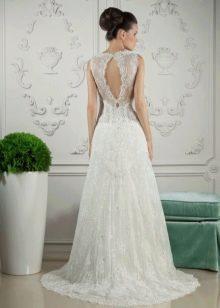 Свадебное платье от Тани Григ с вырезом на спине