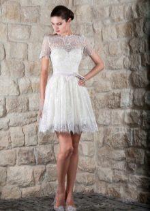 Свадебное платье от Тани Григ  короткое футляр