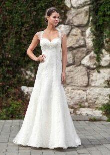 Свадебное платье от Тани Григ а-образное