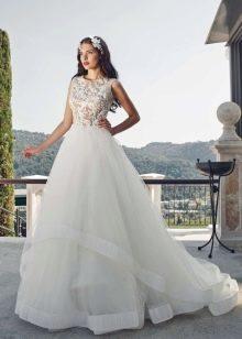Свадебное платье от Tulipia  многослойное