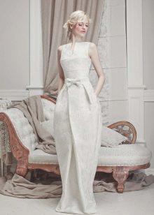 Свадебное платье от Tulipia с юбкой тюльпан