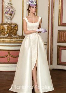 Свадебное платье от Татьяны Каплун из коллекции Lady of quality с разрезом