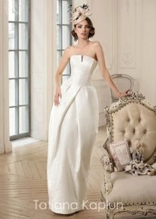 Свадебное платье от Татьяны Каплун из коллекции Lady of quality с юбкой тюльпан