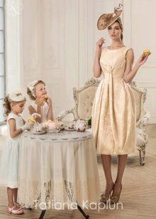 Короткое свадебное платье от Татьяны Каплун из коллекции Lady of quality