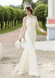 Свадебное платье от Татьяны Каплун из коллекции Lady of quality с рукавом