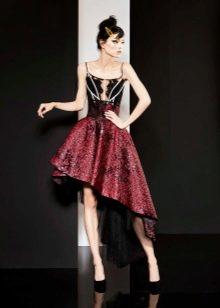 Цветное платье от Йолан Крис