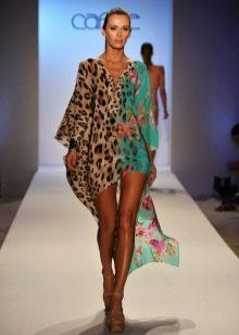 Цветное платье туника