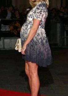 Нарядное платье короткое для беременных