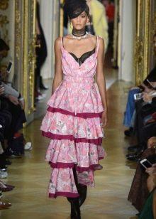 Многослойное платье от Ульяны Сергеенко весна 2016