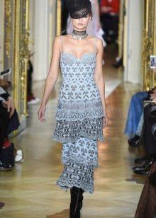 Платье на бретелях от Ульяны Сергеенко